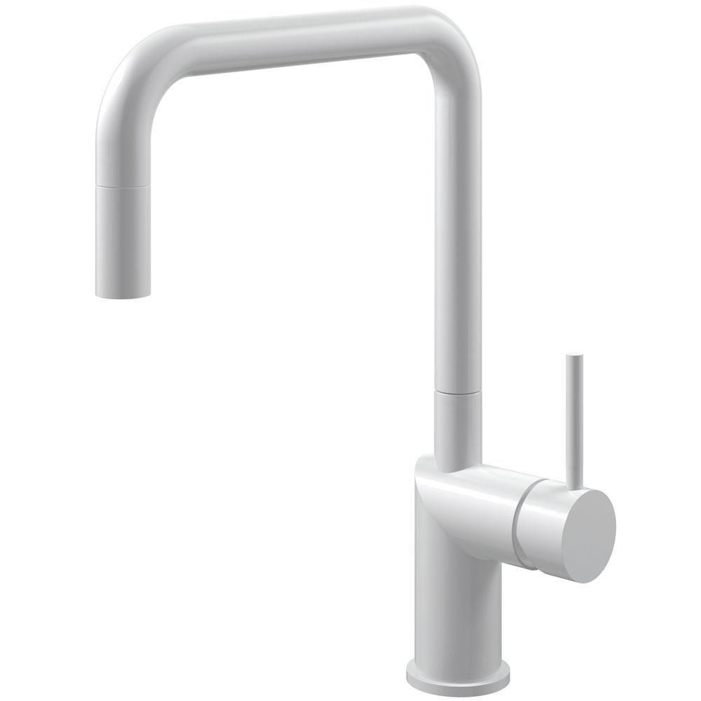 Белый Кухонный Кран Выдвижной шланг - Nivito RH-330-EX