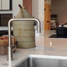 Нержавеющая Сталь Кухня Кран - Nivito 3-RH-300