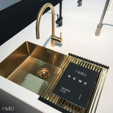 Латунь/Золотой Кухонный Раковина - Nivito 1-CU-500-180-BB