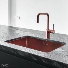 Медь Кухонный Раковина - Nivito 1-CU-500-BC