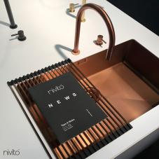Медь Кухонный Раковина - Nivito 1-CU-700-BC