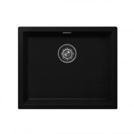 Чёрный Кухонный Бассейн - Nivito CU-500-GR-BL
