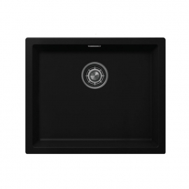 Чёрный Кухонный Раковина - Nivito CU-500-GR-BL