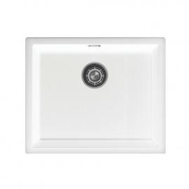 Белый Кухонный Бассейн - Nivito CU-500-GR-WH