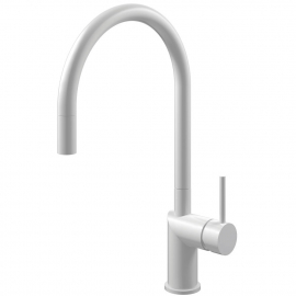 Белый Кухня Кран Выдвижной шланг - Nivito RH-130-EX