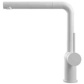 Белый Кухня Кран Выдвижной шланг - Nivito RH-630-EX