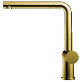 Латунь/Золотой Кухонный Кран Выдвижной шланг - Nivito RH-640-EX